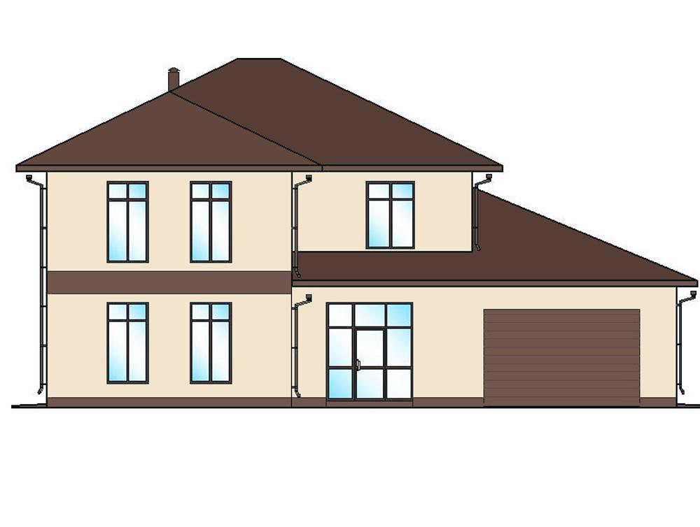 Инд. жилой дом 261 кв.м.