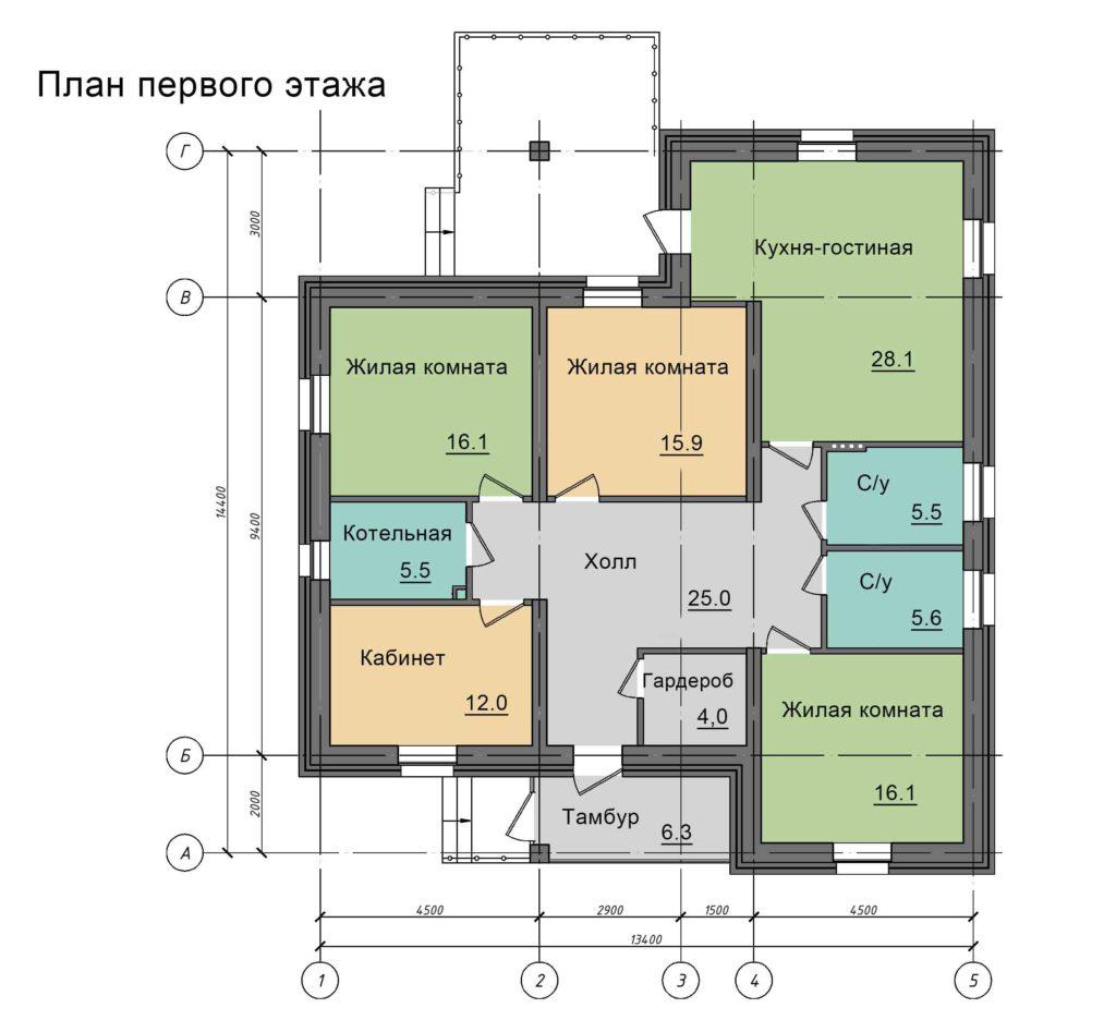 Инд. жилой дом 196 кв.м