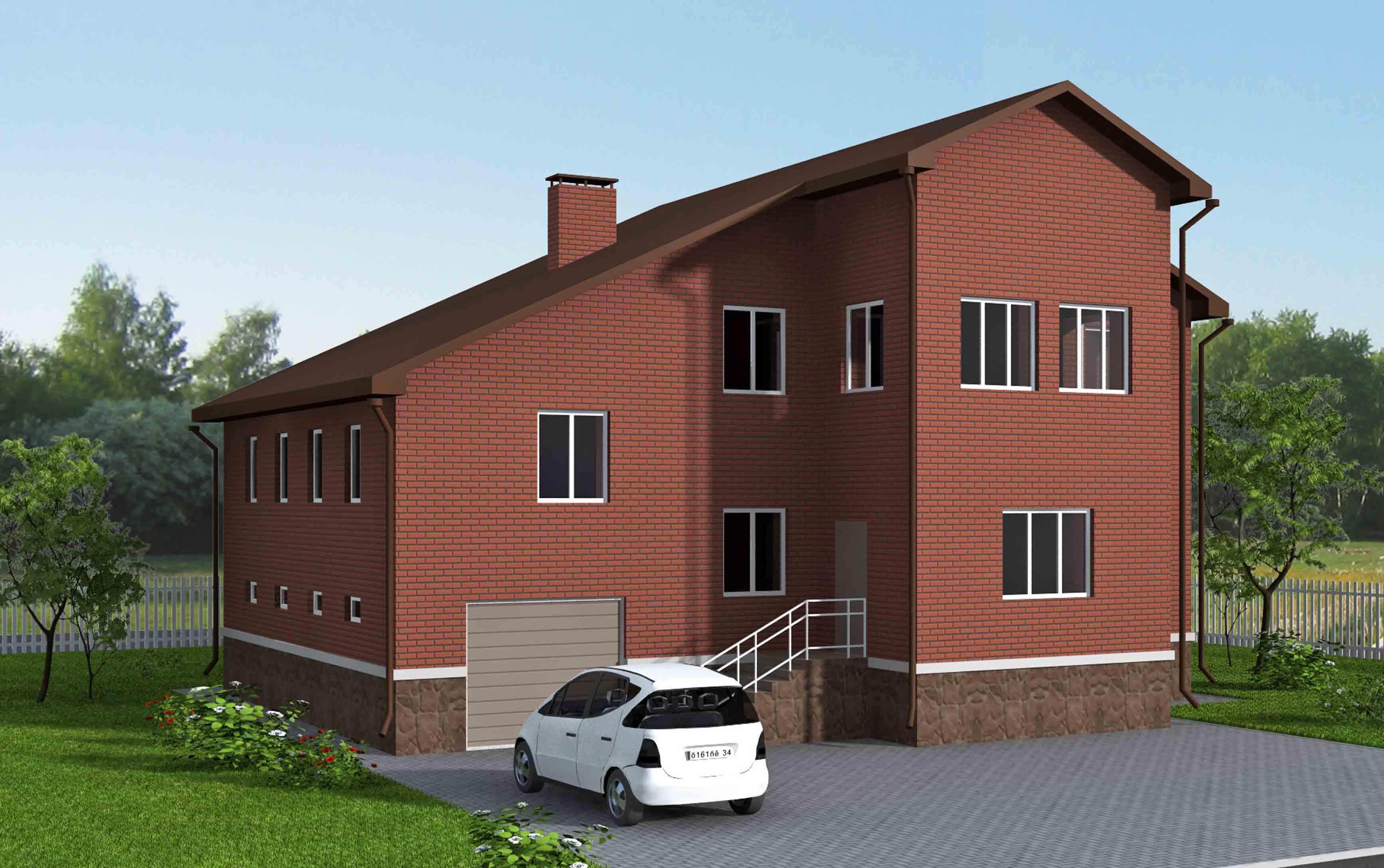Инд. жилой дом 273 кв.м. г. Волгоград