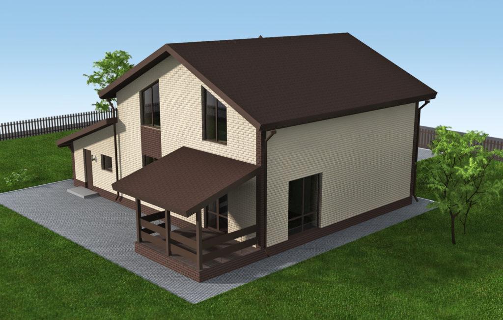 Инд. жилой дом 170 кв.м.