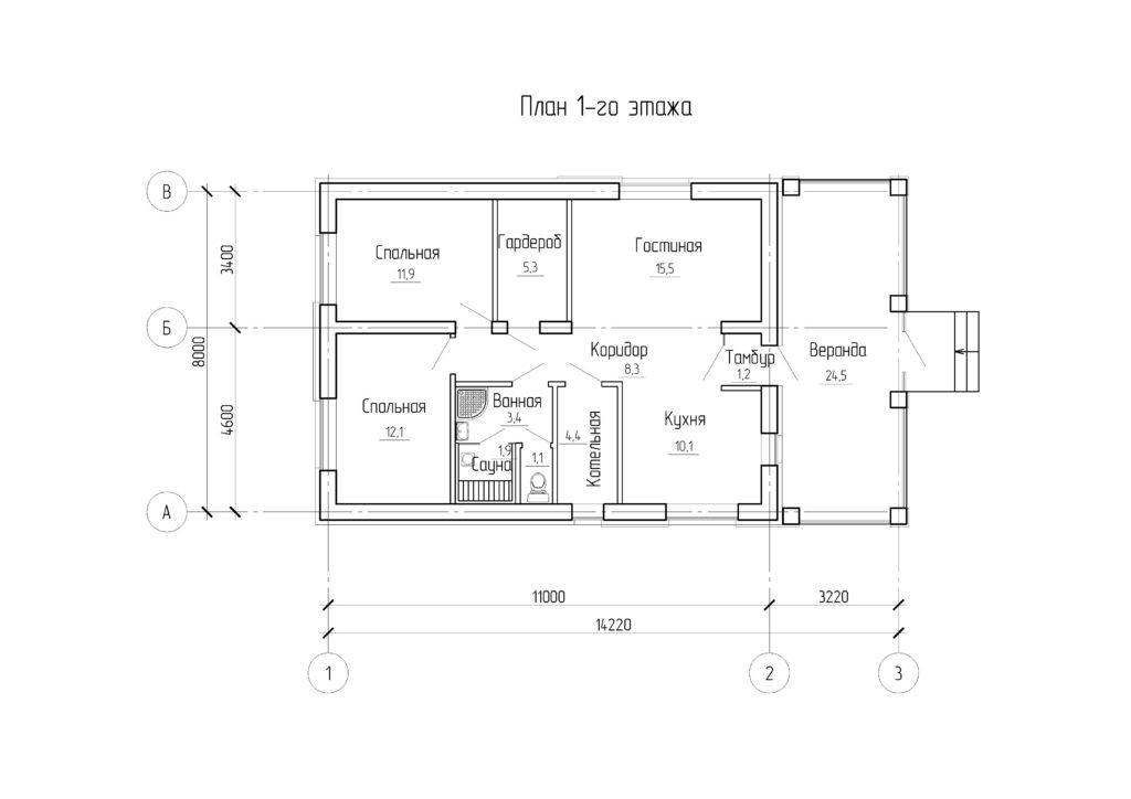 Инд. жилой дом 112 кв. м.