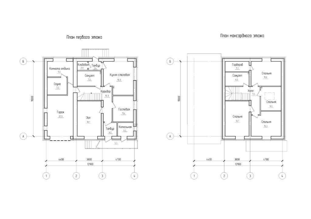 Инд. жилой дом 116,4 кв. м.