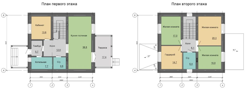 Инд. жилой дом 191,4 кв. м.